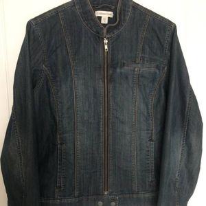 Ladies' Coldwater Creek Stretch Denim Jacket, 12